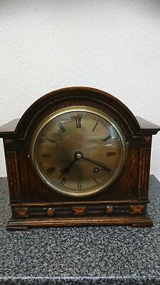 Antique  empire  bracket clock great looking