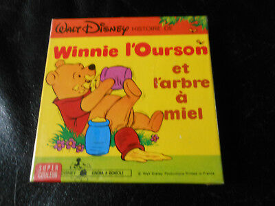 film 8 mm couleur, WINNIE L'OURSON , Walt Disney 60 M NEUF