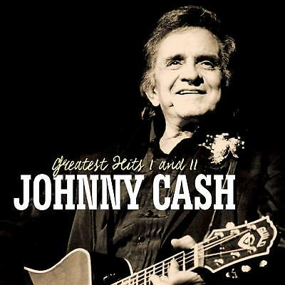 Johnny Cash New 2 Cd Set 34 Greatest Hits I & Ii Best Of Walk The Line & More