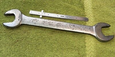 """Billings Life Time Open End Wrench L1033-C, 15/16"""" X 1"""", USA"""