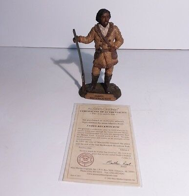 James Beckwourth Figurine Miss Martha Originals  All Gods Children Martha Root