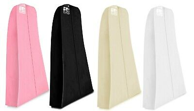 Hoesh Breathable Large Wedding Bridal Gown Clothes Dress Garment Bags Protector
