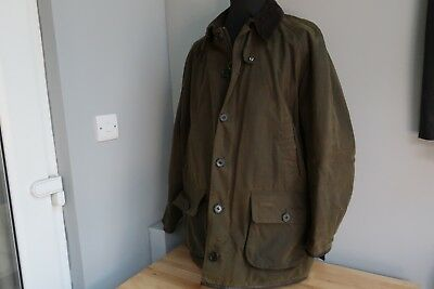Barbour Longhurst Wax Jacket 2XL Leather Trim Pristine RRP £289.95