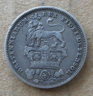 Great Britain 6 pence 1826.  MD-5575