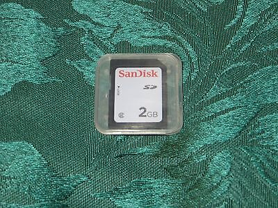 SanDisk 2GB SD Card NEW