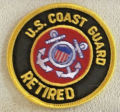 USCG United States. Coast Guard Retired Patch 3 in dia #2630