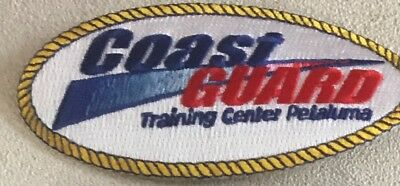 USCG United States Coast Guard Trng Ctr Petaluma CA patch 2-1/4 X 4-3/4 #2622
