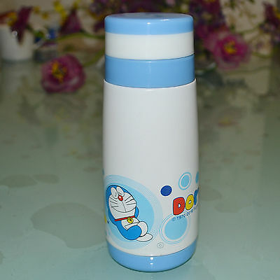 Doraemon bottle mug 350ml with high vacuum warm keeping stainless steel kettle