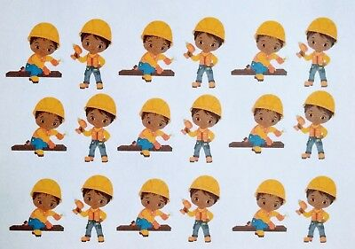 18 Praying Male Man African American stickers for planners /& scrapbooks