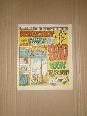 Whizzer and Chips issue dated December 2 1978