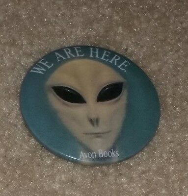 Communion by Whitley Strieber Collectible Button - Aliens, Close Encounters
