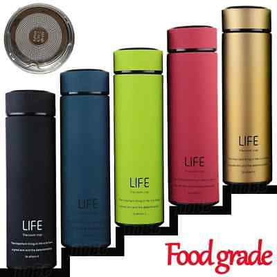 Thermos café / thé isoler avec filtre thermo tasse inoxydable