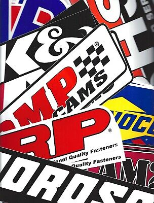 Racing Decals Fender Size Assorted Lot Set of 28 (14 Pairs) Bumper US FREE SHIP