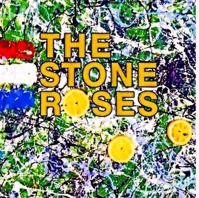 The Stone Roses Album Cover Stretched Canvas Wall Art