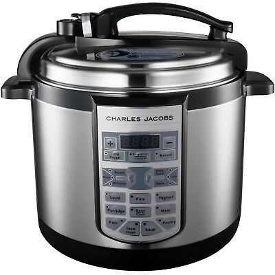 Multi Function 7in1 Electric Pressure Cooker Stainless Steel Rice Pot 900W 5L