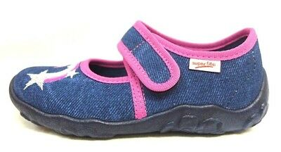 various styles incredible prices well known SUPERFIT FILLE CHAUSSONS Taille 27 Bleu/Rose Licorne Étoile 282-80