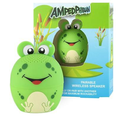 My Audio Pet Small Ampedphibian Bluetooth Frog Wireless Speaker With TWS