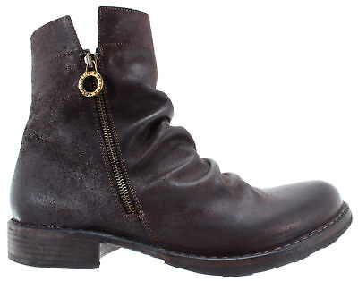 BAKER Bolt BRODY-9 Leather Old Wash Black Men/'s Shoes Ankle Boots FIORENTINI