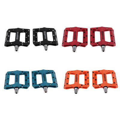 1 Pair Polyamide+Steel Road Mountain Bicycle Cycling Pedal Platform Pedals