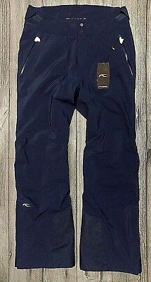 Kjus Formula Pro Mens Ski Pants>Bnwt>£450+>Size Large>Eu52>Ms20-803>Blue>Skiing