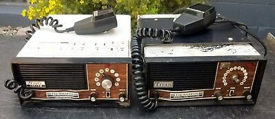 Lot of Two Ray Jefferson Marine Radios One Model  725 - and One Model 1425