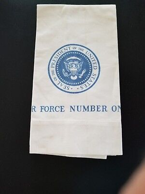 Air Force Number One Pillow Case Presidential Seal ?President Nixon 18 X 12 1/2""