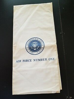 Air Force Number One Pillow Case  Presidential Seal ?President Nixon 30 X 20