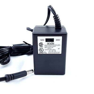Andis | 1.3V DC 1500mA | 22913 Power Supply Adapter | For BTF/BTFL/BTF2
