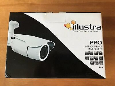 Tyco Illustra Pro 2MP 1080p Bullet CCTV Surveillance Camera