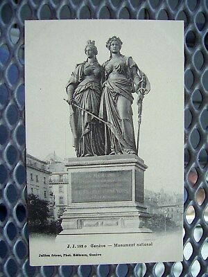 Genève, Monument national, Genf Nationaldenkmal, ngl. um 1910