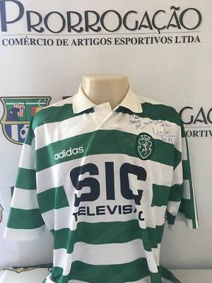 Sporting nº 5 Marco Aurelio worn and signed