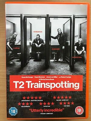 Ewan McGregor T2 Trainspotting 2 2017 Irvine Welsh Scottish Classic UK DVD