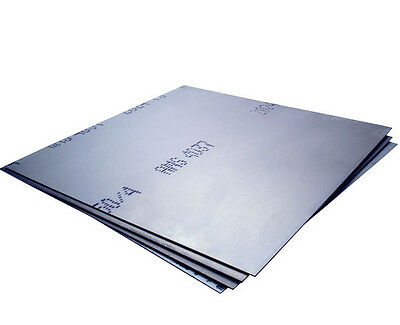 "4 PC (.063"") 1/16"" x 6"" x 6"" Alloy 6061 Aluminum Sheet/Plate"