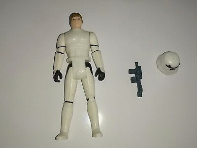 Star Wars Stormtrooper Outfit Poft Kenner Vintage Rar Original 100%