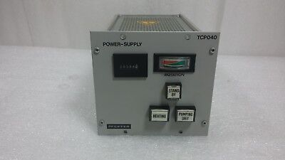 Pfeiffer TCP040 Turbo Pump Controller Power Supply