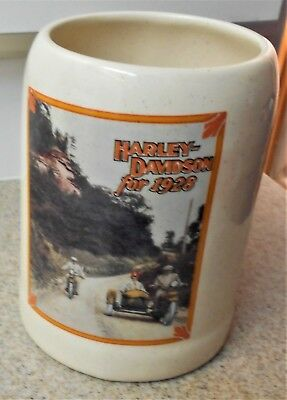 1995 Official Harley Davidson Motorcycle 1928 Coffee Mug Cup Archive Original