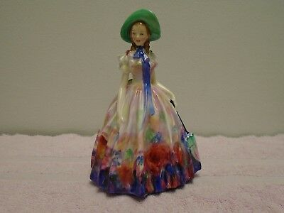 "Royal Doulton Figurine Easter Day Hn 2039 Gorgeous! 7 1/2"" Tall"