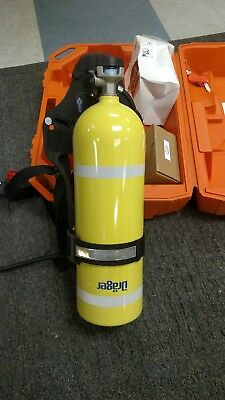 Drager Compressed Air Breathing Cylinder
