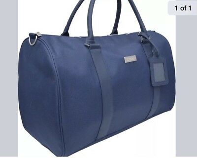 New Lacoste Navy Weekend/ Travel/ Gym/Holdall Bag
