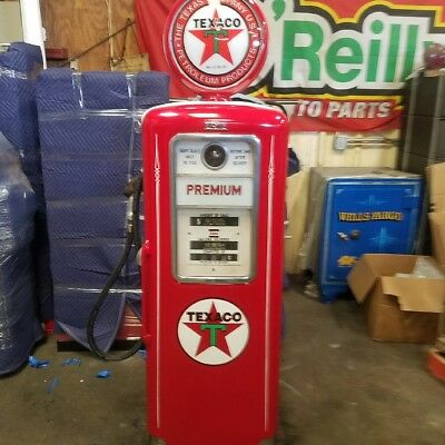 Texaco Gas Pump Vintage Red