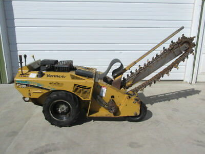 "2005 Vermeer RT200 Walk Behind Trencher 502 Hrs 4"" Wide x 36"" Deep Kohler Engine"