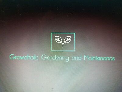 Growaholic Gardening and Maintenance Business Name for Sale (Make a statement)