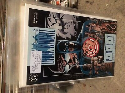 #13   Batman  Signed  By  Paul  Gulacy   Vf/nm   50% To 70% Discount Sale
