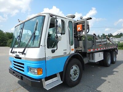 Freightliner Condor Cabover Reel Load Carrier Hook Truck Scrap Metal Dumpster
