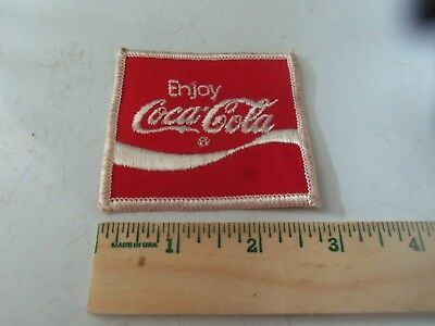 Vintage Coca Cola Cloth Patch - New / Old Stock