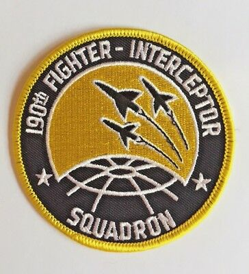 USAF 190th FIS Fighter Squadron Patch