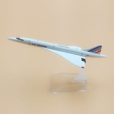 15.5cm Airplane Model Plane Air France Concorde F-BVFB Airlines Aircraft Model