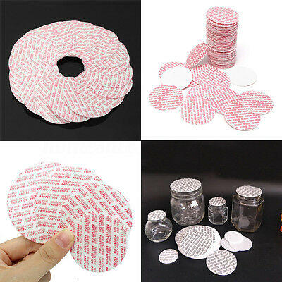 ALS_ HK- 20/24/28mm 100Pcs Press & Seal Cap Liners Bottle Foam Safety Tamper Sea
