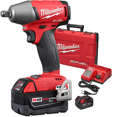 "Milwaukee 2755B-22 M18 FUEL 1/2"" Impact Wrench Friction Ring Kit New"