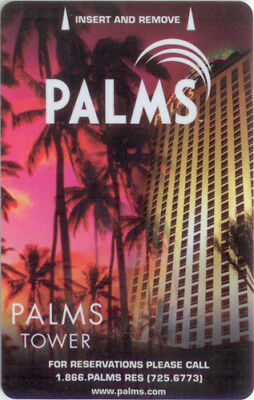 Las Vegas Palms Casino Palms Tower #6 - Room Key